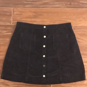 Navy blue Urban Outfitters skirt